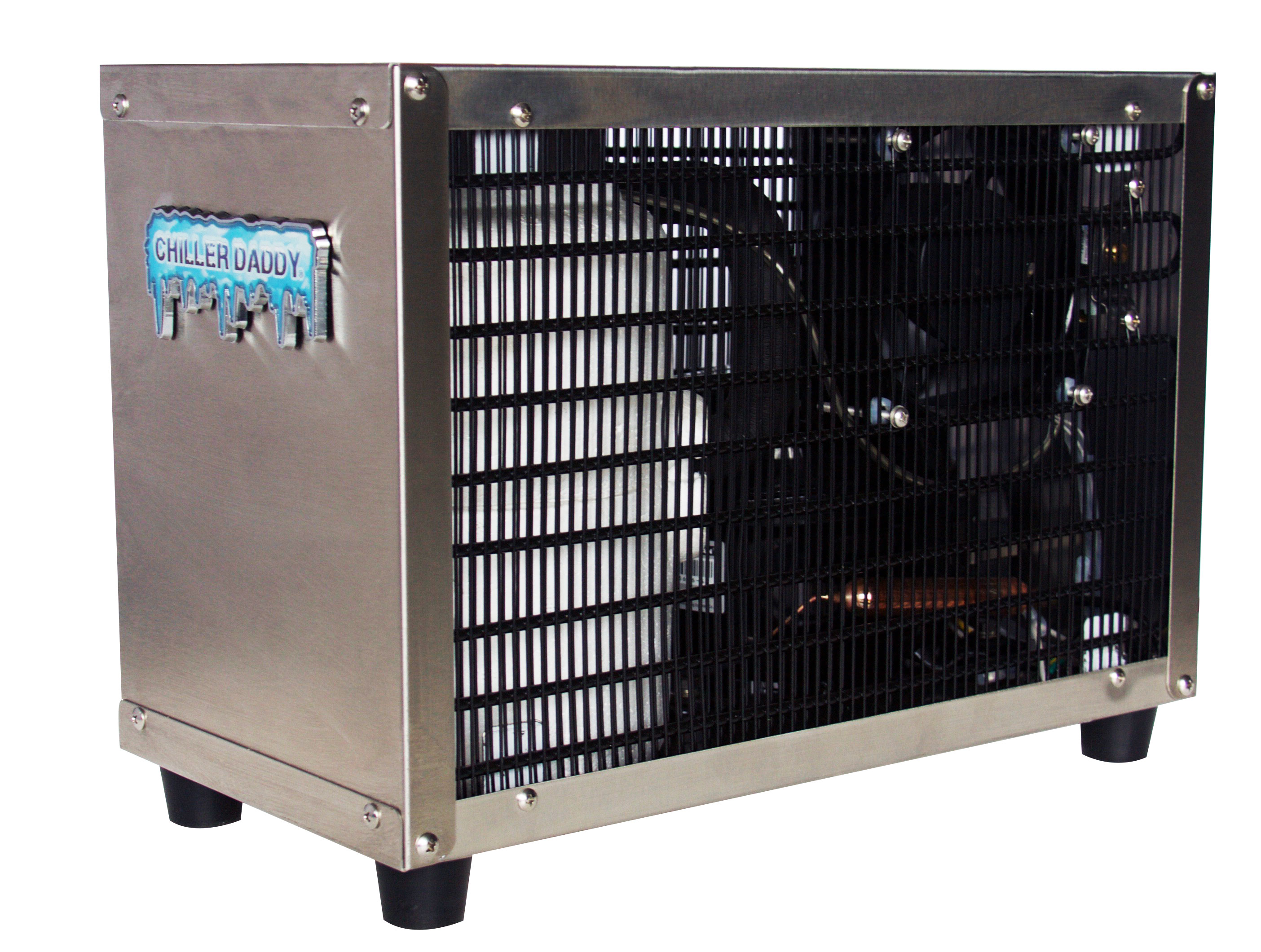 Chiller Daddy under counter water chiller SUS304 stainless steel under counter water chiller is perfect for reverse osmosis RO drinking water systems