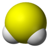 Hydrogen sulfide CAUSES SULFUR OR ROTTEN EGG SMELL IN WELL WATER