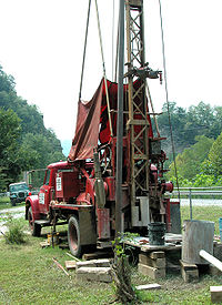 well water drilling