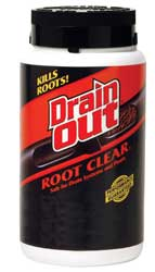 root clear for drains and septic tanks, pipes and septic systems