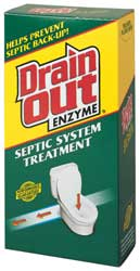 Septic enzymes for septic systems and septic fields